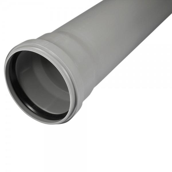 Abluftrohrstutzen, Länge 500 mm, DN 100 mm