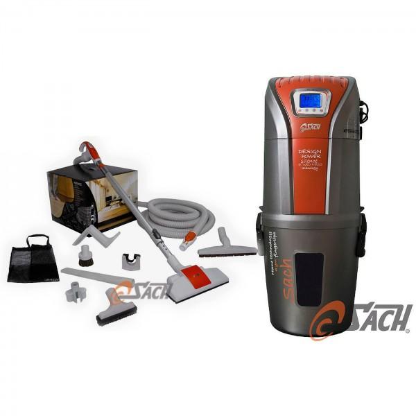 Zentralstaubsauger VAC Digital 2.4 + Schlauch-Set 8M PLUS